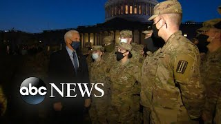 Vice President Mike Pence thanks National Guard for protection, inauguration | WNT