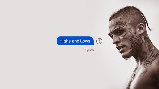 Lil Skies - Highs and Lows (lyrics)