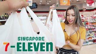 Exploring a Singapore 7-Eleven (food tour)