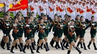 Beautiful Vietnamese Female Military Parade-Các nữ chiễn sĩ xinh đẹp Việt Nam