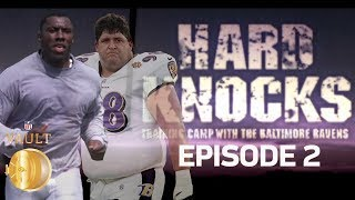 First Player Cut on Hard Knocks, Shannon Sharpe Pranked & More! | 2001 Ravens Episode 2 | NFL Vault