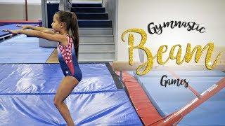 Fun Gymnastics Beam Games| Sariah SGG