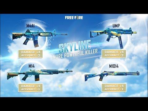 Novas Skins de Armas - Skyline