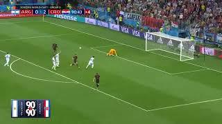 90 in 90 Argentina vs  Croatia 2018 FIFA World Cup Highlights
