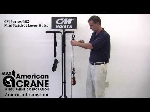 Product Review of CM Series 602 Mini Ratchet Lever Hoist