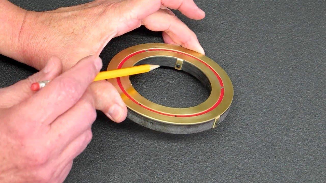 Flat Disc Electrical Slip Ring Youtube