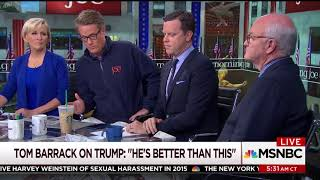 Morning Joe Spends a Second Day Discussing Removing Trump With 25th Amendment