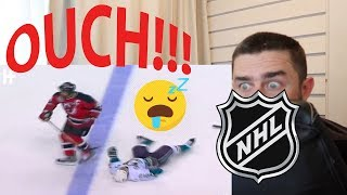 Rugby Fan Reacts to NHL Ice Hockey's Biggest Hits!