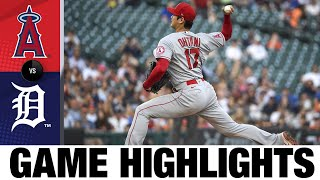 Angels vs. Tigers Game Highlights (8/18/21) | MLB Highlights