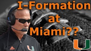 Miami Hurricanes Offense is CHANGING in 2018?