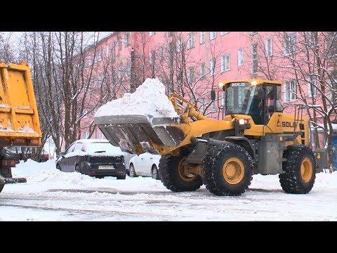 Расчистка города от снега