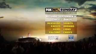 FOX NFL Sunday Week 1 Promo: Redskins v Saints and 49ers v Packers