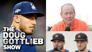 Cody Bellinger Rips Houston Astros, Calls Apologies 'Weak' - Doug Gottlieb