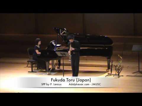 3rd JMLISC Fukuda Toru (Japan) SPP by P. Leroux