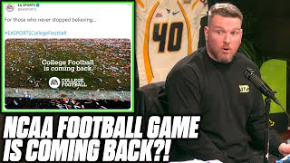 Pat McAfee Reacts To EA Announcing A New NCAA Video Game