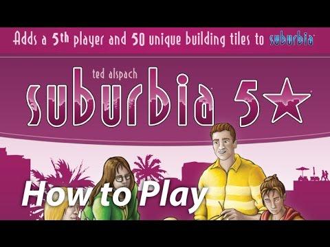 Bézier Games Suburbia : 5 Star