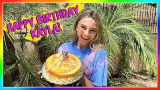 Kayla's 15th Birthday! Make a Wish! | We Are The Davises