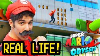 REAL LIFE SUPER MARIO ODYSSEY
