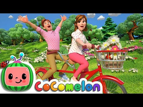 Daisy Bell (Bicycle Built for Two) | CoCoMelon Nursery Rhymes & Kids Songs