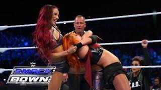 Charlotte & Becky Lynch vs. Naomi & Sasha Banks: SmackDown, Aug. 6, 2015