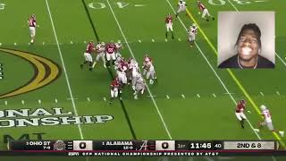 College Football Playoff National Championship Game Highlights: Alabama vs Ohio State 2021 REACTION