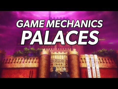 Persona 5: Game Mechanics - Palaces Trailer