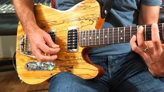Making a chambered Telecaster