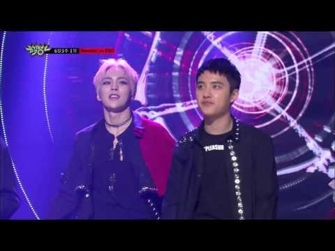 [뮤직뱅크]6월 3주 1위 EXO-Monster 세리머니Cut