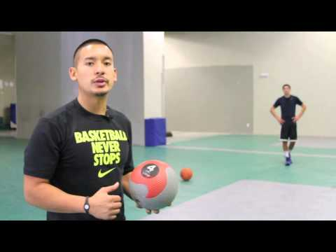 Team Elite Basketball - Medicine Ball Drill