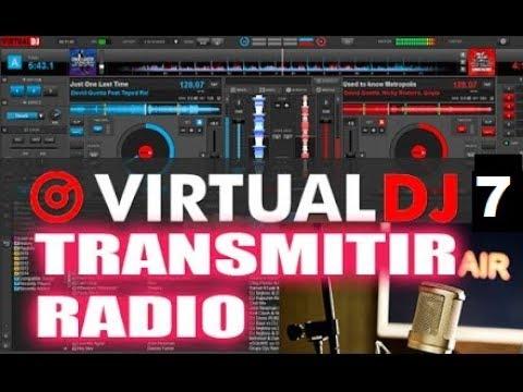 Configurar Para Transmitir Radio - Virtual Dj 7 Tutorial