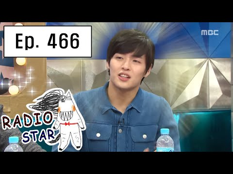 [RADIO STAR] 라디오스타 -  Kang Ha-neul is the hero of this moving story 20160217