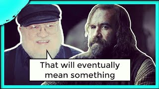 George R.R. Martin said this CLUE will pay off | Game of Thrones Season 8 (SanSan & the Unkiss)