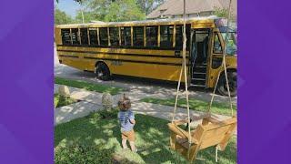 Conroe ISD bus driver surprises boy, makes new friend
