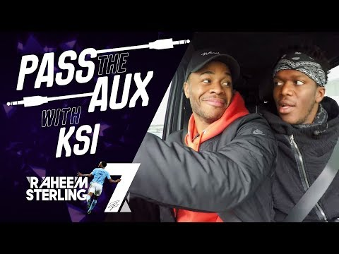 Reacting To KSI's Music | PASS THE AUX | Raheem Sterling's UK Grime Playlist