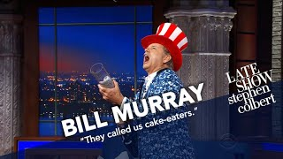 Bill Murray Ambushes The Ed Sullivan Theater With T-Shirts