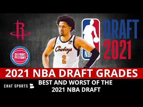 2021 NBA Draft Grades For All 30 Teams