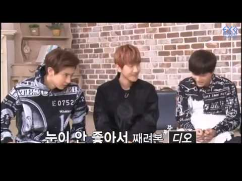 [THAISUB] ดีโอกับความโกรธที่หมั่นไส้แบคฮยอน (CUT) | EXO'S FIRST BOX! DVD
