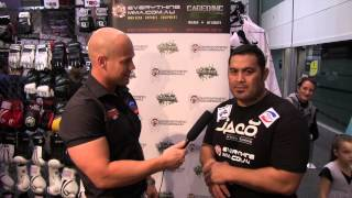 Mark Hunt | Australian Fitness & Health Expo 2014