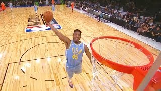 2018 NBA All-Star Early Dunk Contest in Rising Stars Challenge Team World vs Team USA!
