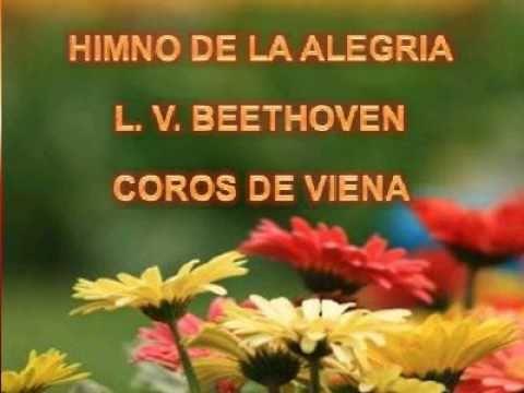 HIMNO A LA ALEGRIA. -L. V. BEETHOVEN - COROS DE VIENA