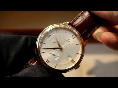 video Omega De-Ville Prestige Automatic Chronograph