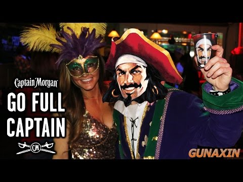 Mardi Gras 2016 with Captain Morgan : #FullCaptain