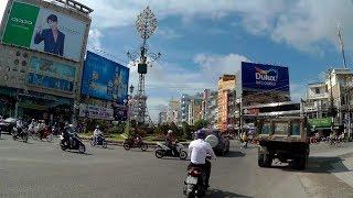 Trên Đường Trần Hưng Đạo Đi Phà An Hòa - TP Long Xuyên  - An Giang