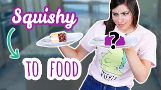 Squishy BAKEover | Turning My Squishy into FOOD
