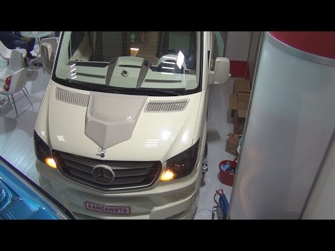 Mercedes-Benz Sprinter 516 BlueTec Cancan Oto (2016) Exterior and Interior in 3D
