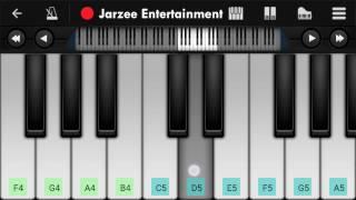 Mere Rashke Kamar - Mobile Perfect Piano Tutorial | Jarzee Entertainment