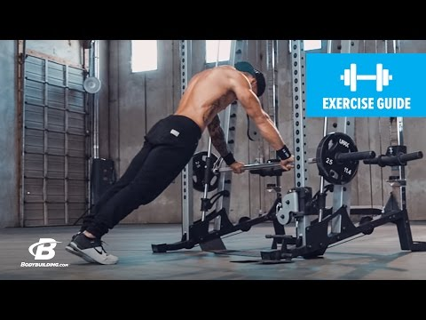 Bar Push-Up Smith Machine | Exercise Guide