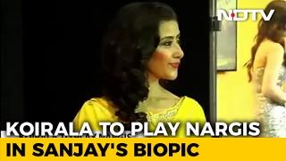 Manisha Koirala To Play Ranbir Kapoor's Mother In Sanjay D..
