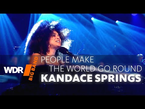 Kandace Springs feat. by WDR BIG BAND: People Make The World Go Round