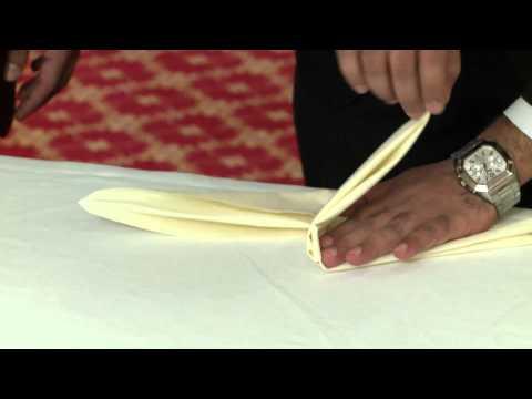 Al Bustan Centre & Residence - Folding a Napkin